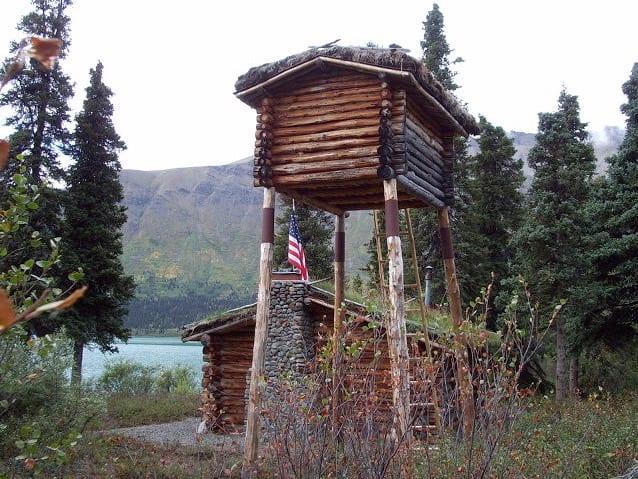 Food storage at Twin Lakes Cabin