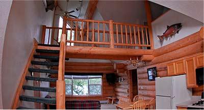 Inside view of Kenai Peninsula Suite